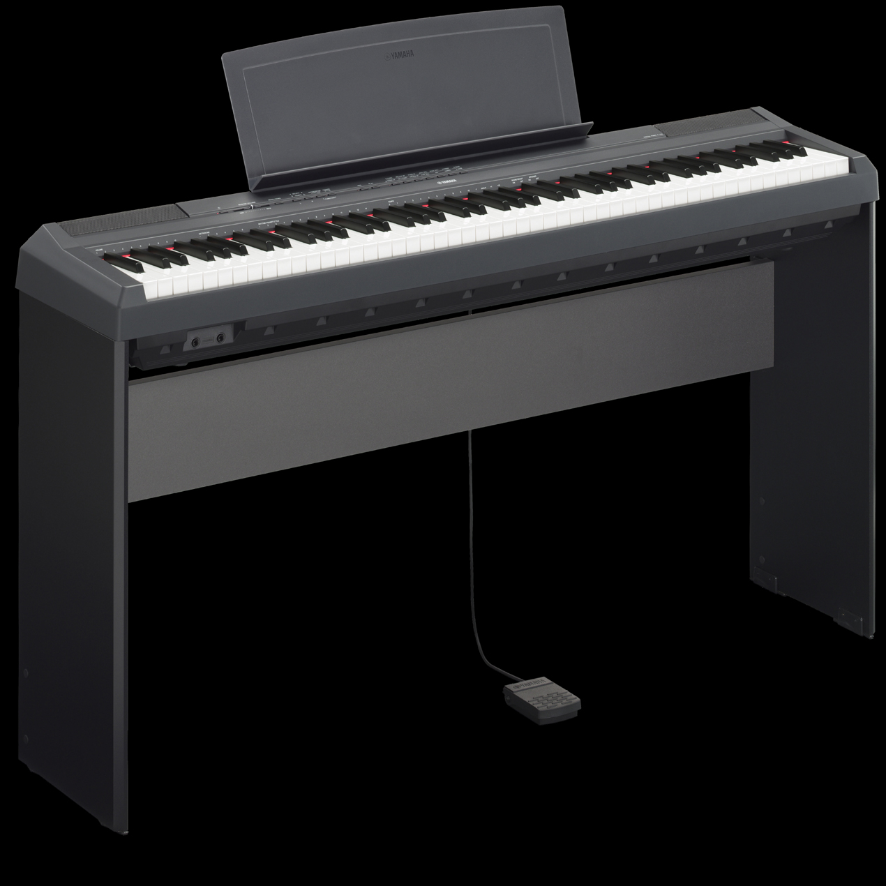 yamaha p 125 stand synthomusic. Black Bedroom Furniture Sets. Home Design Ideas