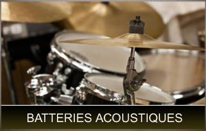 batteries acoustiques
