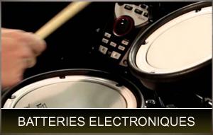 batteries électroniques