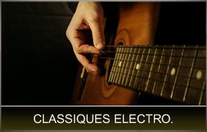 Guitares classiques électro