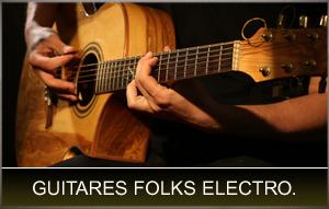Guitares folks électro